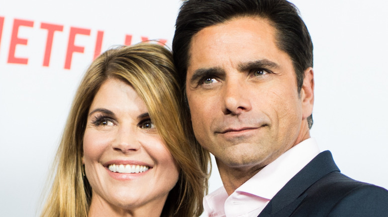 John Stamos and Lori Loughlin on the red carpet