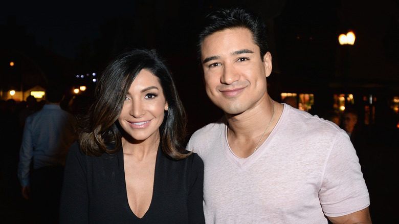 Mario Lopez and his wife, Courtney Laine Mazza