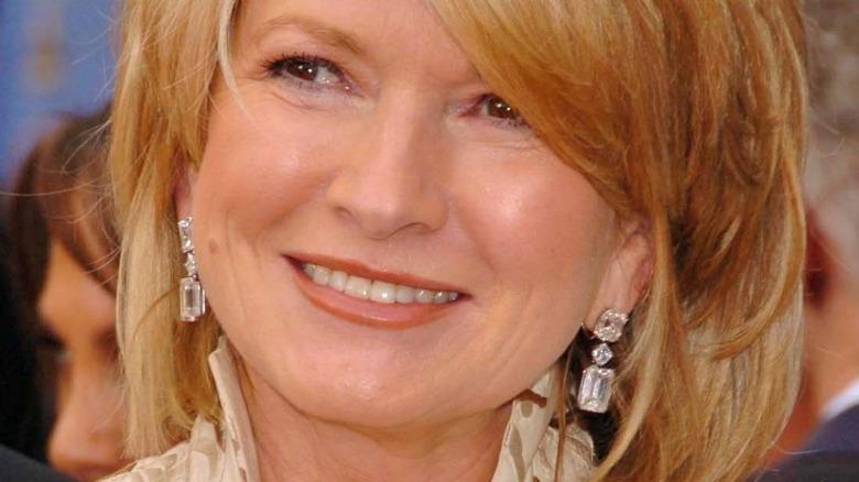 Martha Stewart on red carpet