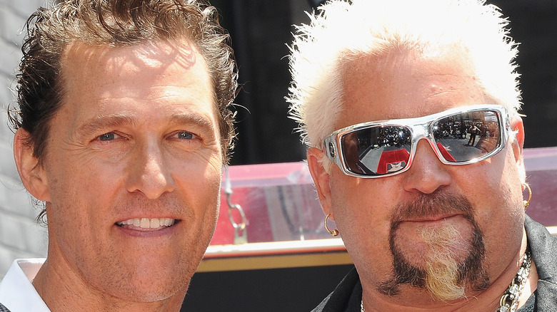 Matthew McConaughey and Guy Fieri