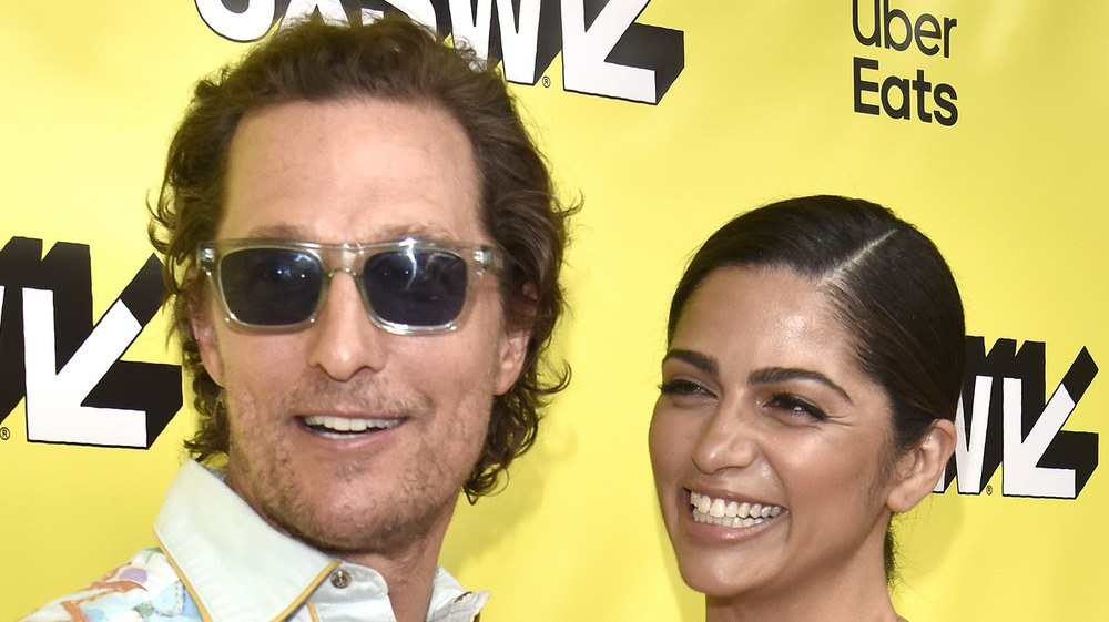 Matthew McConaughey and Camila Alves at SXSW