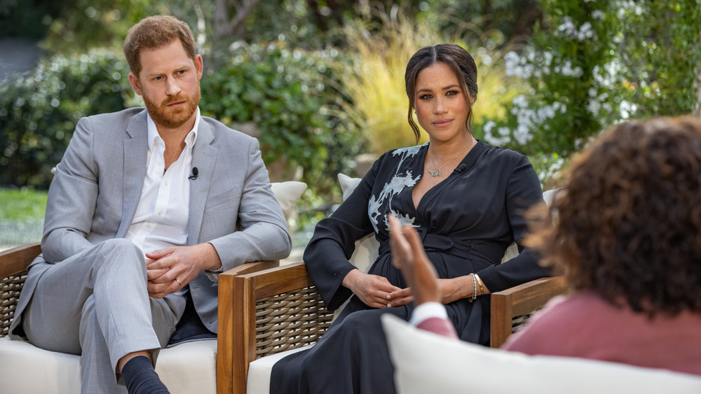 Meghan and Harry interview with Oprah
