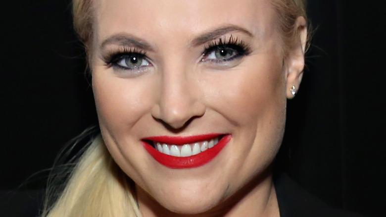 Meghan McCain smiling