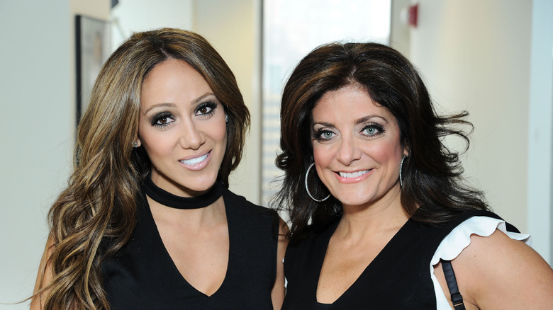 Melissa Gorga and Kathy Wakile