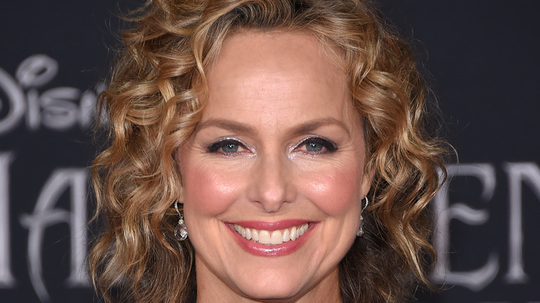 Melora Hardin smiles at an event