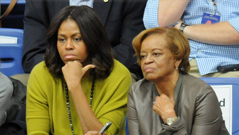 Michelle Obama and Marian Robinson