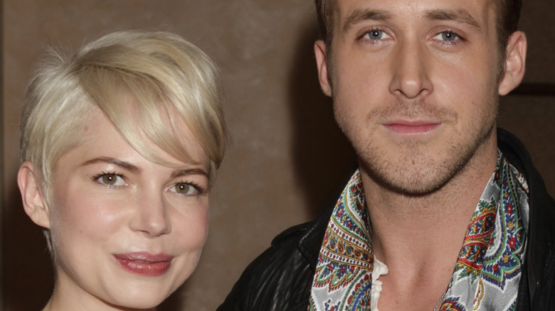 Ryan Gosling and Michelle Williams at an event in 2010