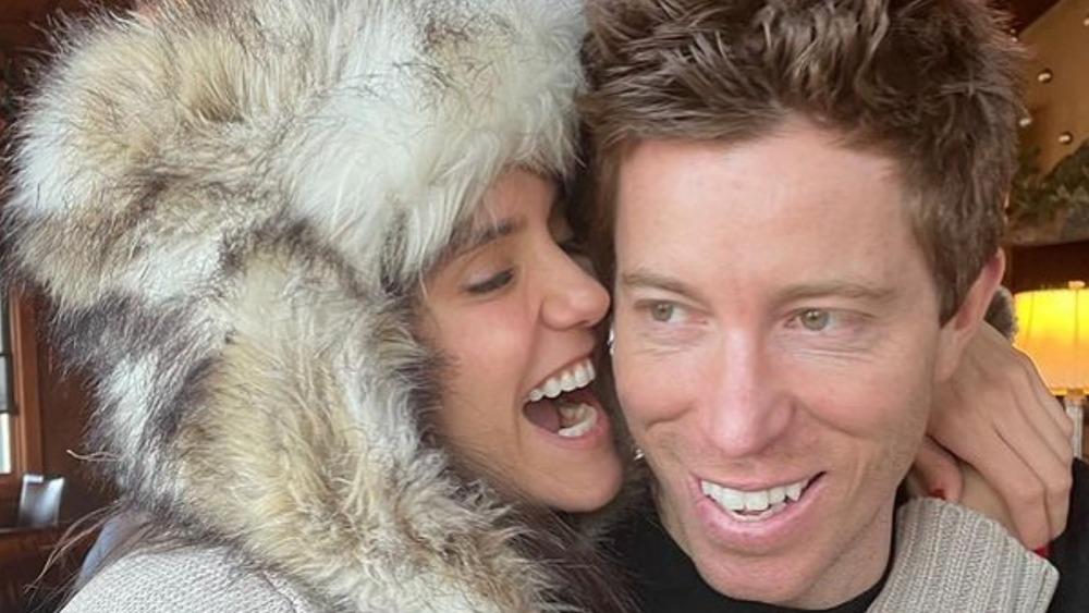 Nina Dobrev and Shaun White
