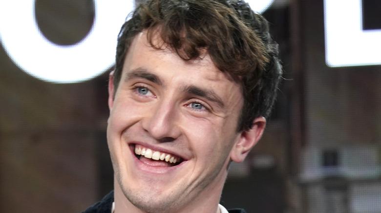 Paul Mescal smiling