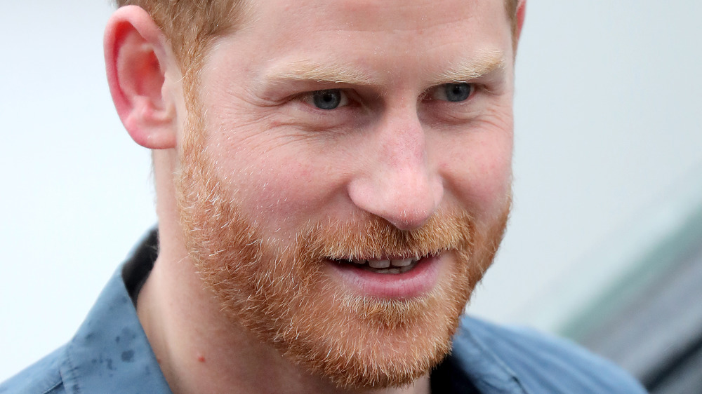 Prince Harry close-up