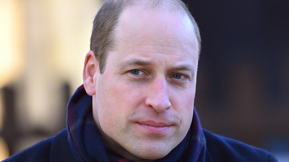 Prince William in blue