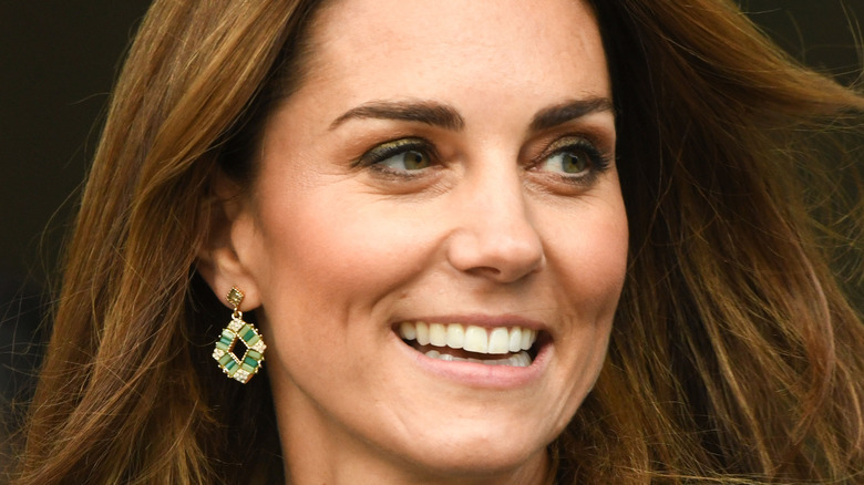 Kate Middleton in 2019, close-up
