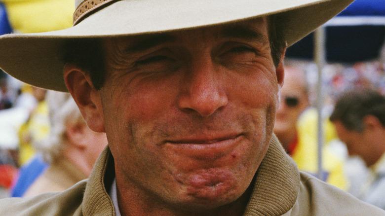 Mark Phillips smiling
