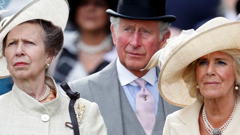 Princess Anne, Prince Charles, Camilla Parker-Bowles