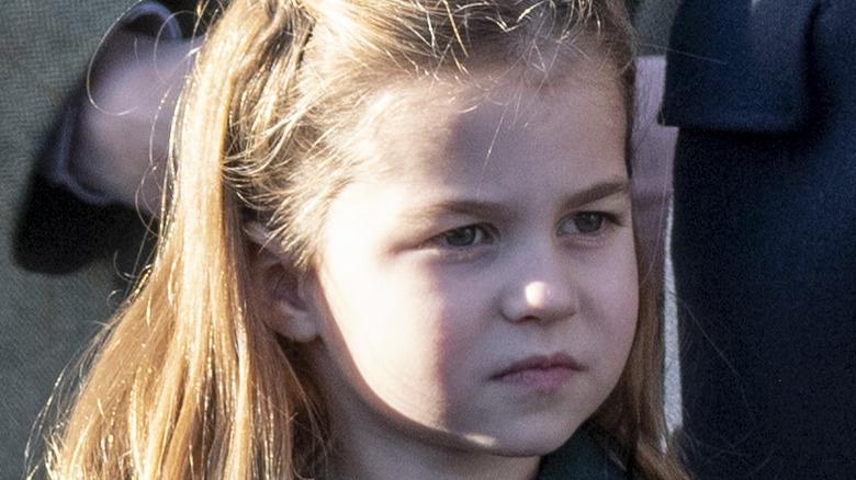 close up of Princess Charlotte
