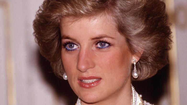 Princess Diana posing