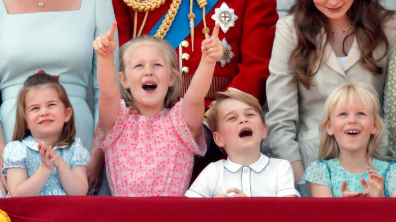 Queen Elizabeth's great-grandchildren