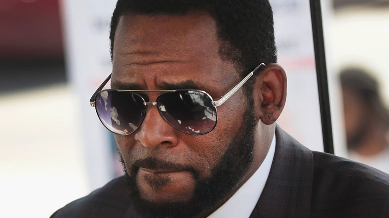 R. Kelly enters court