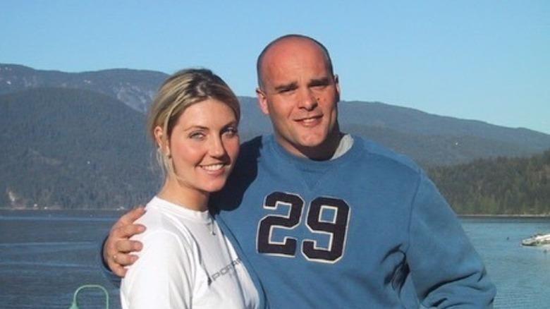young Bryan and Sarah Baeumler smiling
