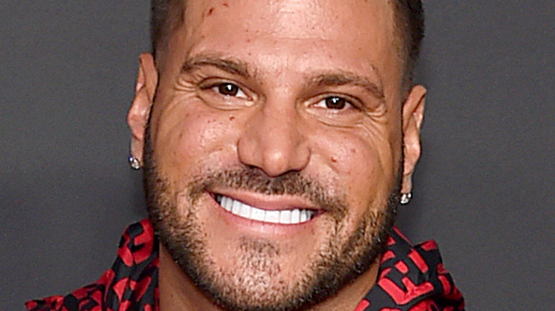 Ronnie Ortiz-Magro smiling with facial hair