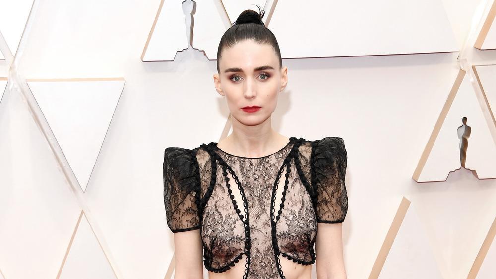Rooney Mara Oscars red carpet