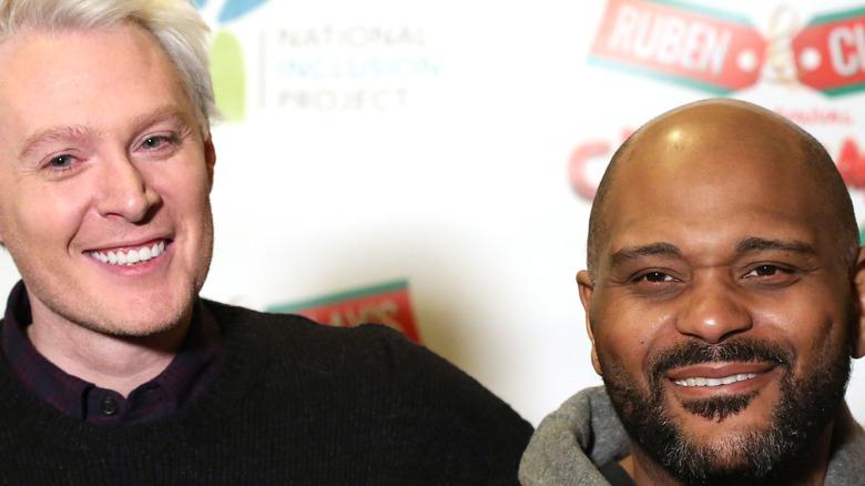 Ruben Studdard and Clay Aiken