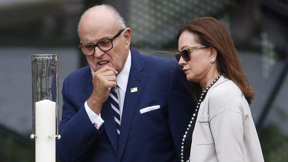 Rudy Giuliani and ex-wife, Judith
