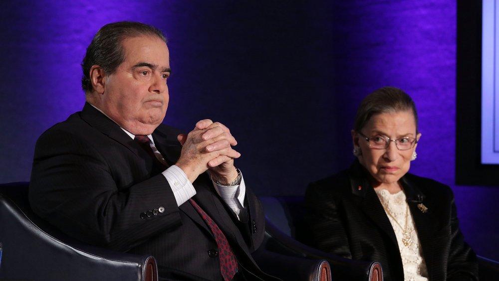 Ginsburg and Scalia
