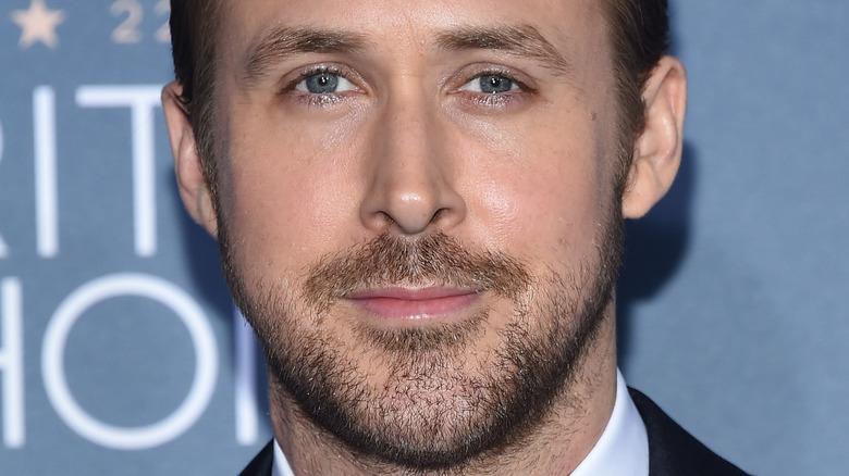 Ryan Gosling smiling