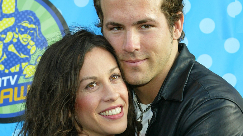Ryan Reynolds and Alanis Morissette at MTV event