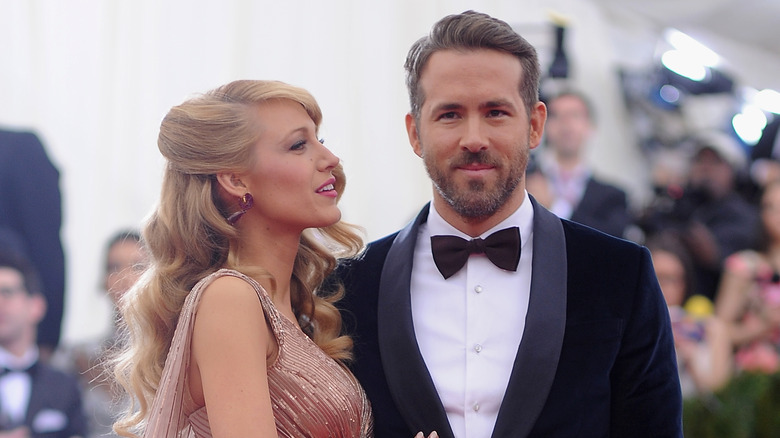 Ryan Reynolds and Blake Lively at the 2019 Met Gala