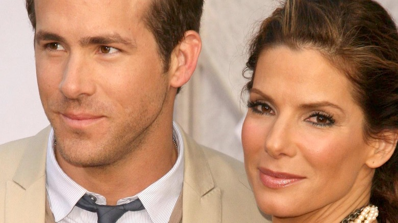 """Sandra Bullock and Ryan Reynolds attend the premiere of """"The Proposal"""""""