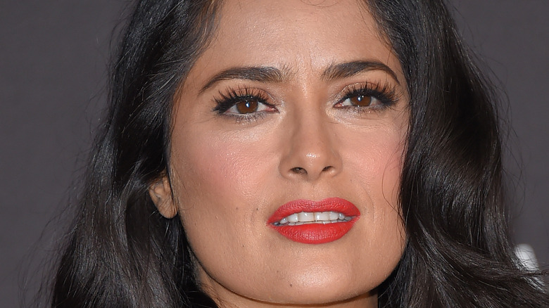 Salma Hayek close-up