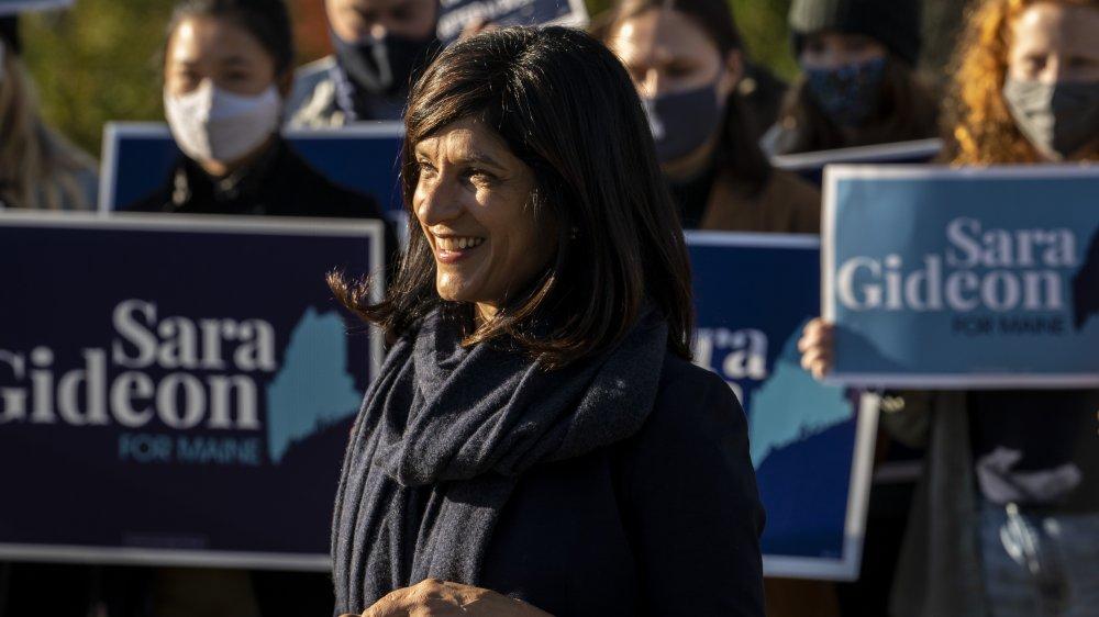 Democratic Senate candidate, Sara Gideon