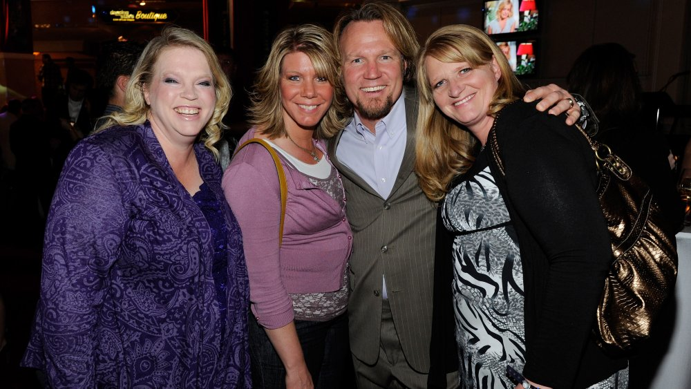 Sister Wives star Meri Brown with her co-stars