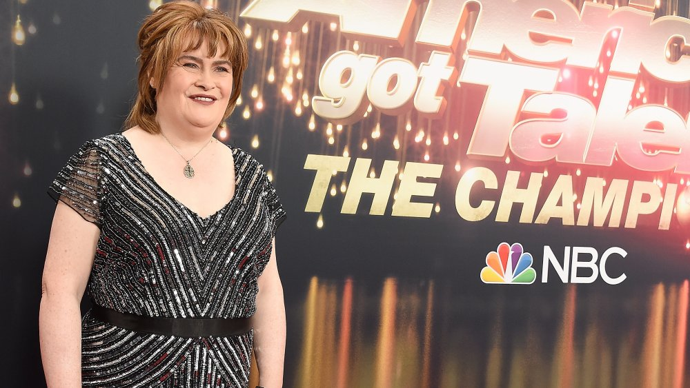 Susan Boyle at America's Got Talent Champions
