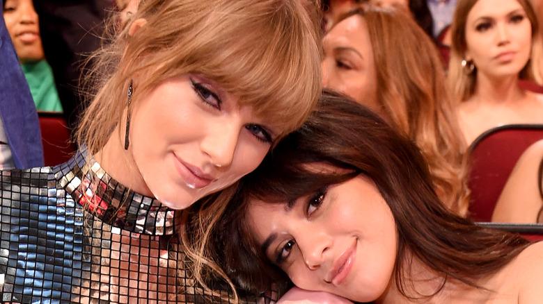 Taylor Swift and Camila Cabello award show