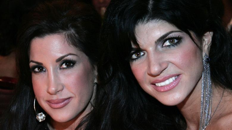 Jacqueline Laurita and Teresa Giudice smiling