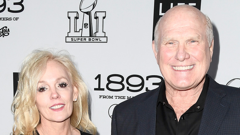 Terry Bradshaw with his wife, Tammy