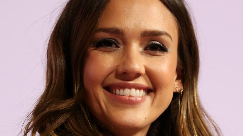 Jessica Alba smiling