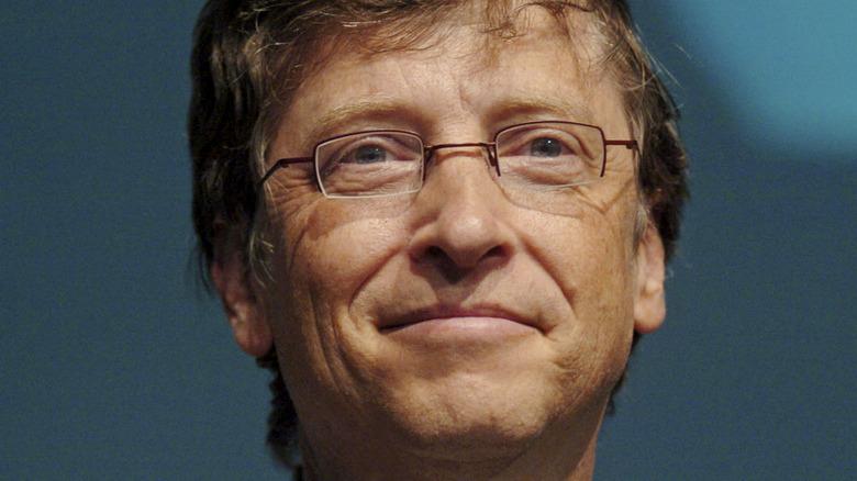 Bill Gates attending an event