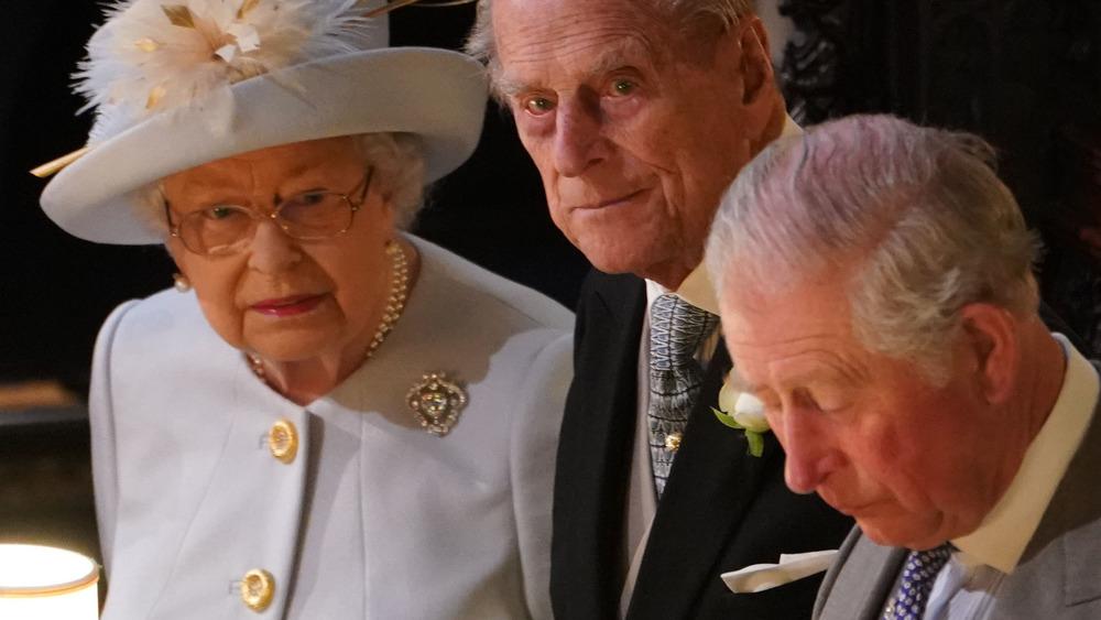 Queen Elizabeth Philip and Charles