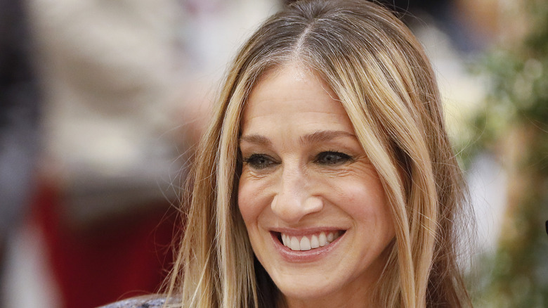 Sarah Jessica Parker smiling