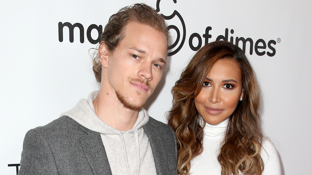 Ryan Dorsey and Naya Rivera at a March of Dimes luncheon