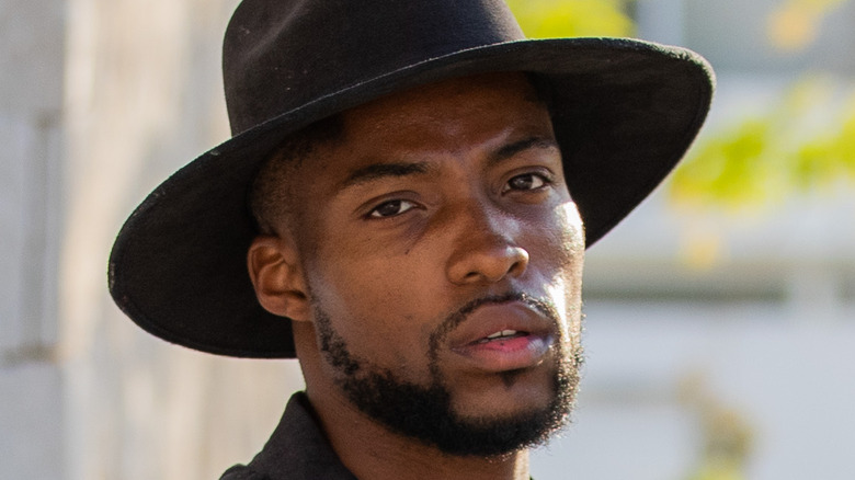Marvin Anthony in black hat