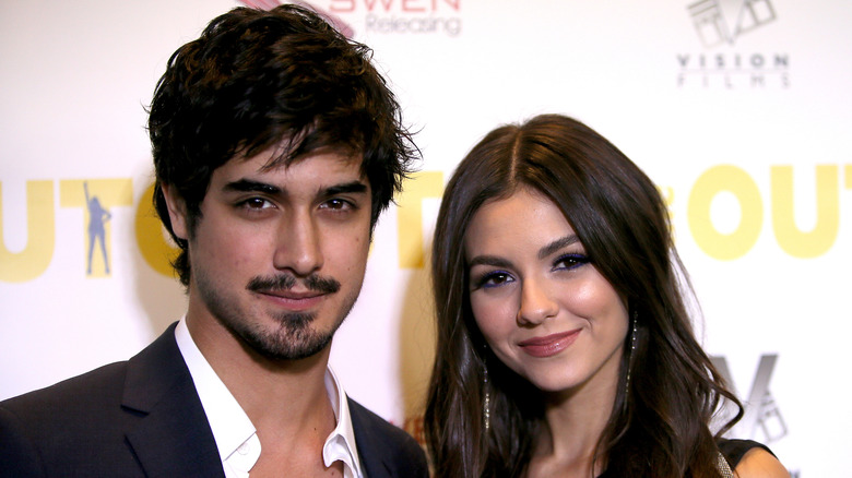Avan Jogia and Victoria Justice at The Outcasts premiere in 2017
