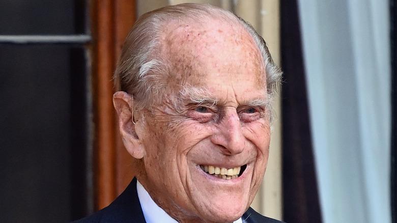 Prince Philip at a royal engagement