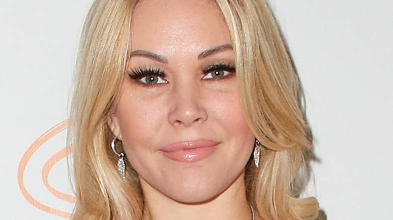 Shanna Moakler poses on the red carpet