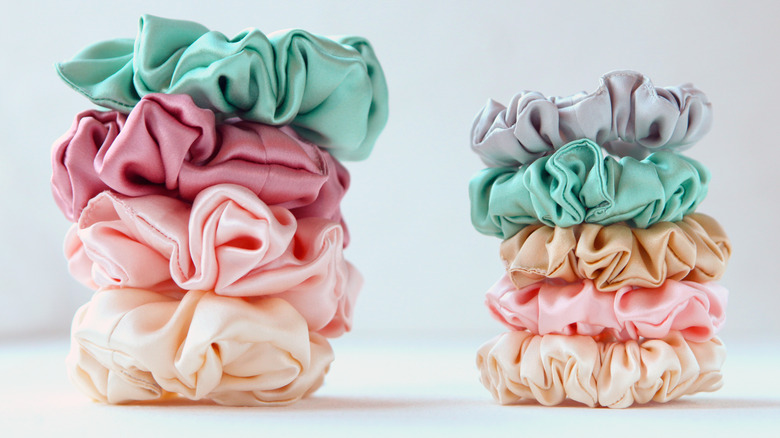 Hair Scrunchies in variety of colors