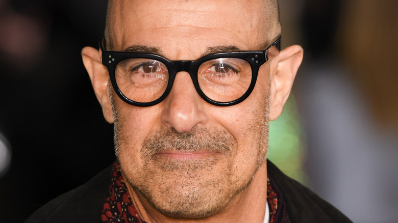 Stanley Tucci smiling